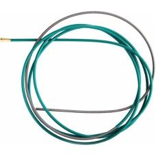 Канал направляющий стальной 4,5 м зеленый (2,0-2,4 мм) IIC05..