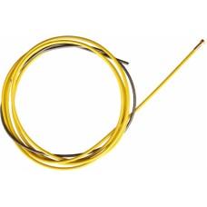 Канал направляющий стальной 5,5 м желтый (1,2-1,6мм) IIC0597..