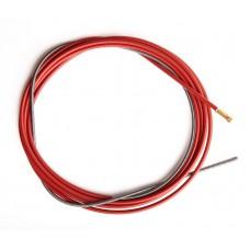 Канал направляющий стальной 5,5 м красный (1,0-1,2мм)..