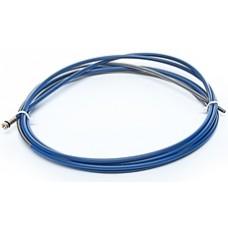 Канал направляющий стальной 0,8-1,0 мм, 5,5 м голубой..