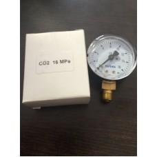Манометр углекислотный 16 МПа..