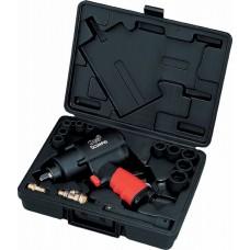 """Пневмогайковерт 1/2"""" 138 кг/м, 2,02 кг Twin Hammer с акс. вкейсе/SCORPIO"""
