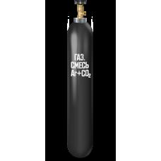 Баллон углекислотный для сварочной смеси 10 литров..