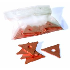 Электрод треугольный для споттера, 20 шт (20 шт)..
