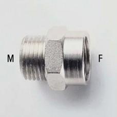 Переходник 1/4 х 1/2 MF внутр+наруж./OMG..