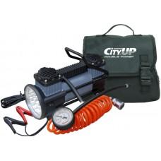 Компрессор CITY-UP Doble Piston AC-619 (двухпоршневой) с фон..