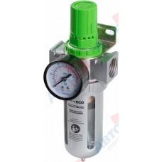 Фильтр воздушный ECO с регулятором давления (1/2)  AU-01-12..