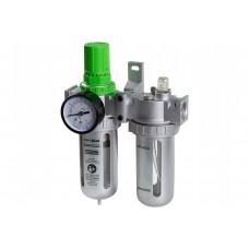 Фильтр воздушный ECO с регулятором давления и маслораспылителем (1/2)