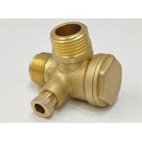 Обратный клапан REMEZA LB40, LB30 1/2Мх1/2Мх1/8F R4241122107