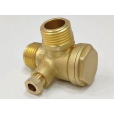 Обратный клапан REMEZA LB40, LB30 1/2Мх1/2Мх1/8F R4241122107..