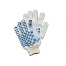 Перчатки трикотажные 5-ти ниткас ПВХ, 10 кл