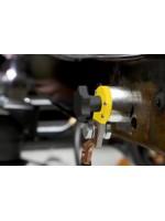 Применение магнитных клемм заземления и магнитных фиксаторов при сварке.